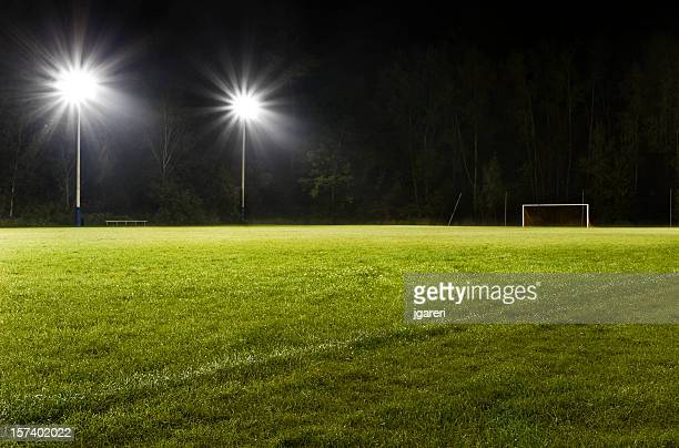 Soccer Field at Night