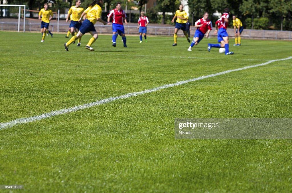 soccer field : Stock Photo