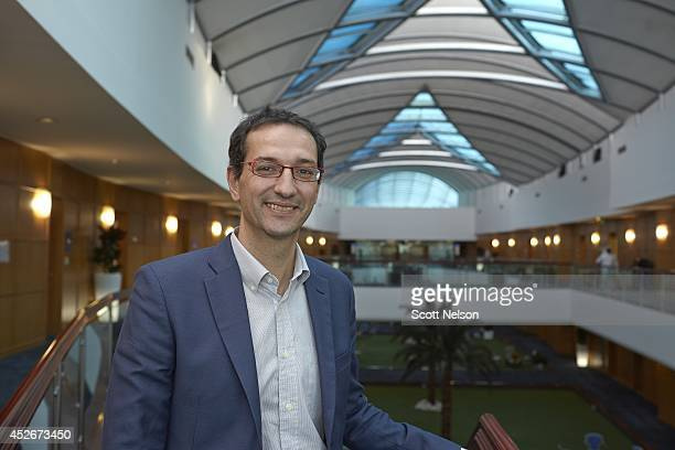 FIFA World Cup Preview Portrait of Aspire Academy director general Ivan Bravo during photo shoot in the faculty wing of Aspire Academy Bravo was...