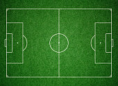 Soccer football pitch grass background