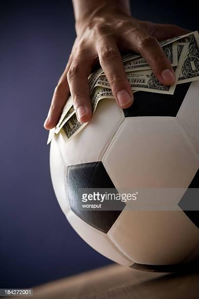 Concept de jeu de football