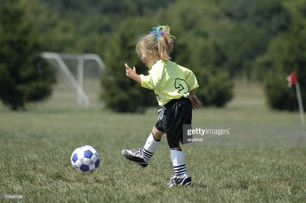 Soccer Girl : Stock Photo
