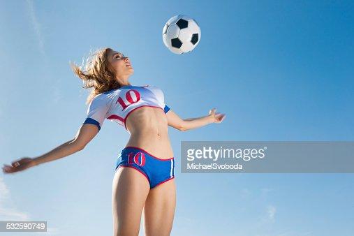 Fille de football