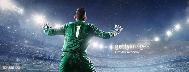 Fußball goalkeeper