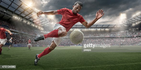 Soccer Hero In Action