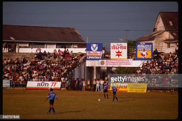 Soccer Match in Vientiane