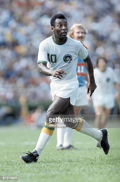 New York Cosmos Pele in action vs Dallas Tornado at Downing Stadium New York NY 6/15/1975