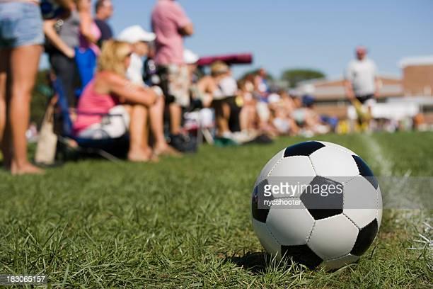 Fußball Eltern Spielfeldgrenze