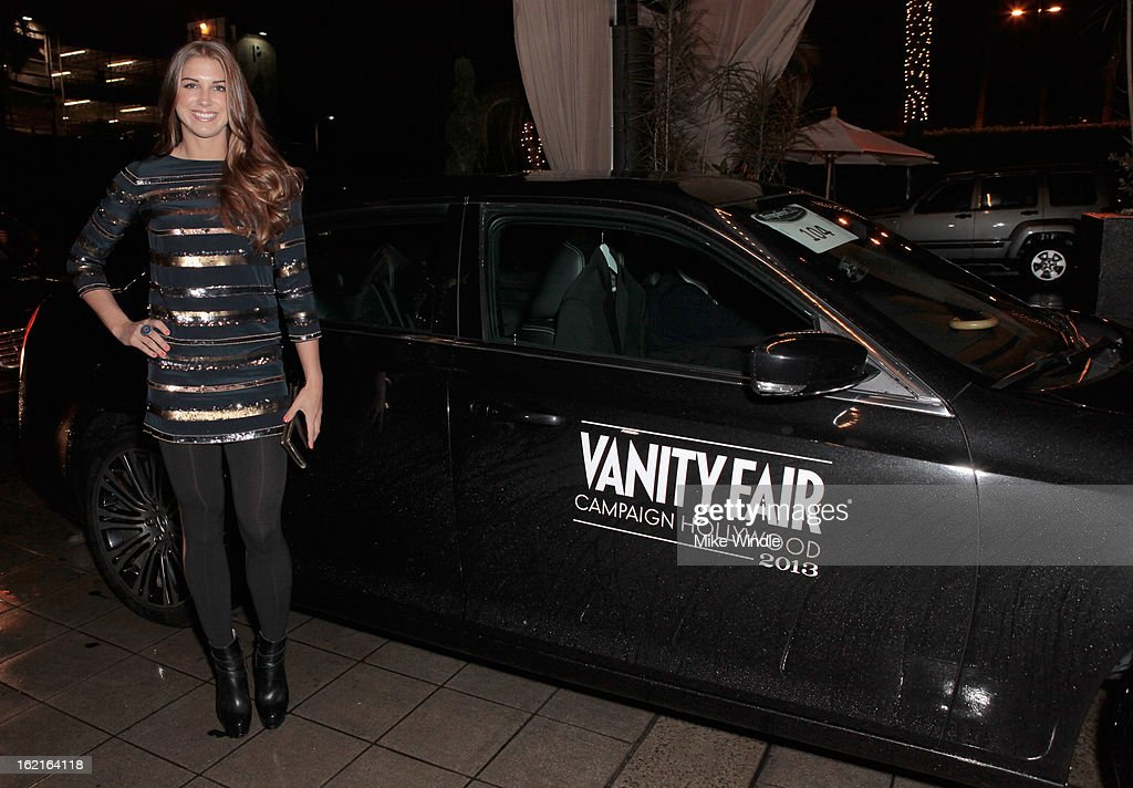 U.S. Soccer Player Alex Morgan attends Vanity Fair and L'Oréal Paris-hosted D.J. Night with Freida Pinto in support of 10 x 10 and 'Girl Rising' at Teddy's at The Hollywood Roosevelt Hotel on February 19, 2013 in Los Angeles, California.