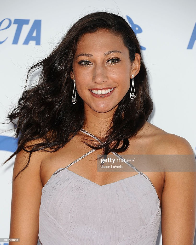 Soccer player Christen Press attends PETA's 35th anniversary party at Hollywood Palladium on September 30, 2015 in Los Angeles, California.