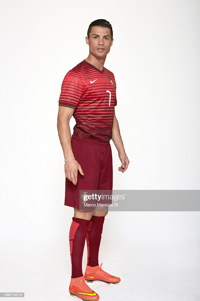 Soccer player <a gi-track='captionPersonalityLinkClicked' href=/galleries/search?phrase=Cristiano+Ronaldo+-+Voetballer&family=editorial&specificpeople=162689 ng-click='$event.stopPropagation()'>Cristiano Ronaldo</a> is photographed for Sports Illustrated on May 30, 2014 in Lisbon, Portugal.