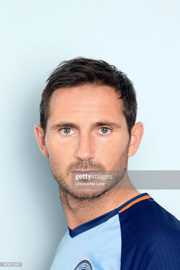 Soccer player Frank Lampard is photographed for Telegraph on August 19, 2016 at SUNY in Purchase, New York.