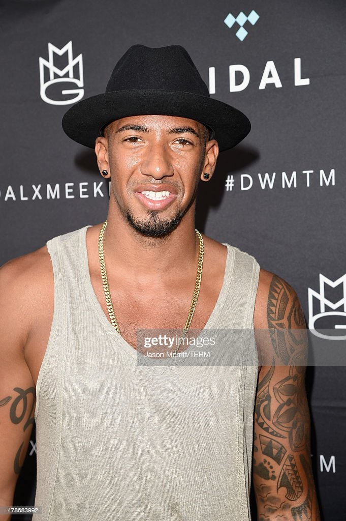 Soccer player <a gi-track='captionPersonalityLinkClicked' href=/galleries/search?phrase=Jerome+Boateng&family=editorial&specificpeople=2192287 ng-click='$event.stopPropagation()'>Jerome Boateng</a> attends Tidal