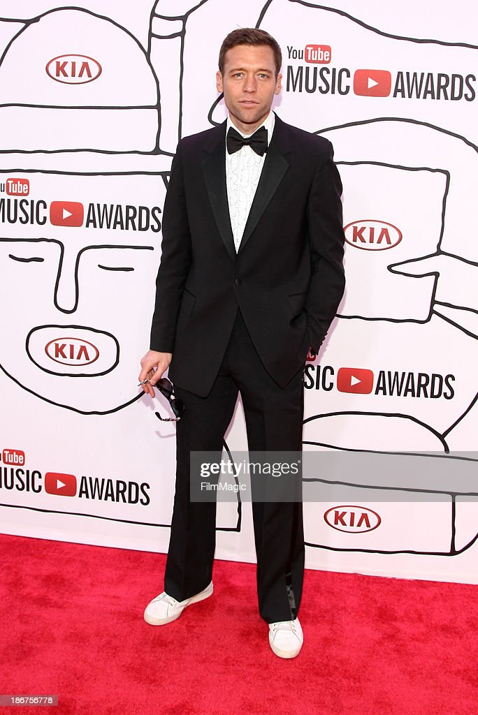 Soccer Player Jimmy Conrad attends the 2013 YouTube Music awards at Pier 36 on November 3, 2013 in New York City.