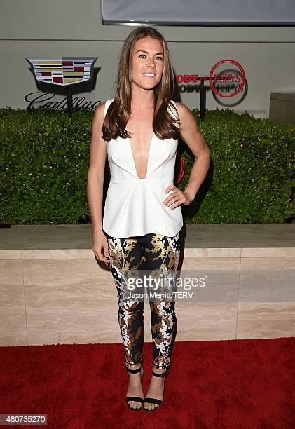 Soccer player Kelley O'Hara attends BODY at ESPYs at Milk Studios on July 14 2015 in Hollywood California