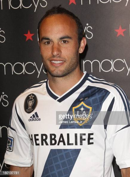 players from the los angeles galaxy participate in macys back to school charity event photos and images getty images
