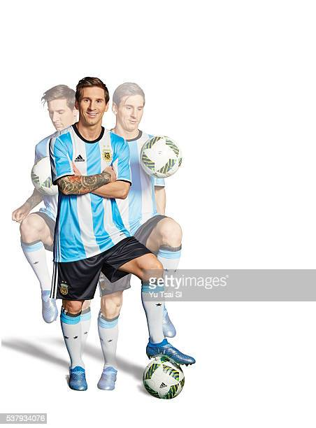Soccer player Lionel Messi is photographed for Sports Illustrated on March 10 2016 in Barcelona Spain PUBLISHED IMAGE CREDIT MUST READ Yu Tsai/Sports...