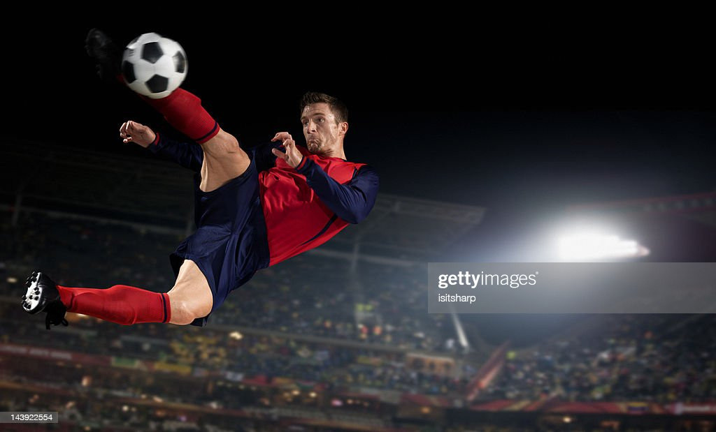 Soccer Player : Foto de stock
