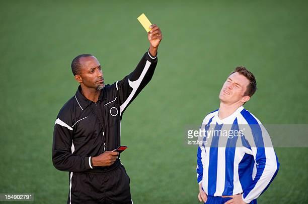 Futbolista & árbitro