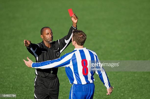 Soccer Player & Referee