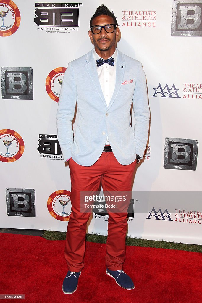 Soccer player Sean Franklin attends the 8th annual BTE All-Star Celebrity Kickoff Party held at The Playboy Mansion on July 15, 2013 in Beverly Hills, California.