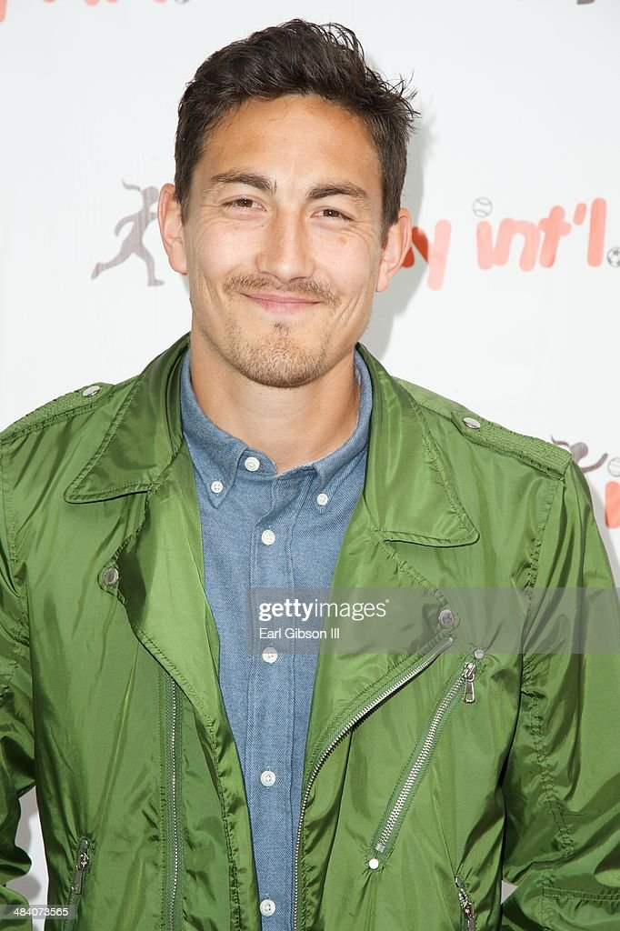 Soccer Player Stefan Ishizaki attends the 5th Annual 'Cocktails For Kids Play' Fundraiser at Shade Hotel on April 10, 2014 in Manhattan Beach, California.