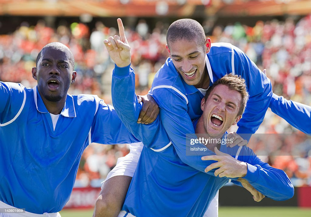 Soccer Players : Stock Photo