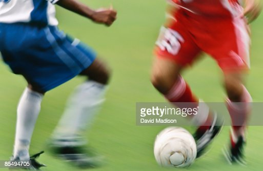 Soccer players. : Stock Photo