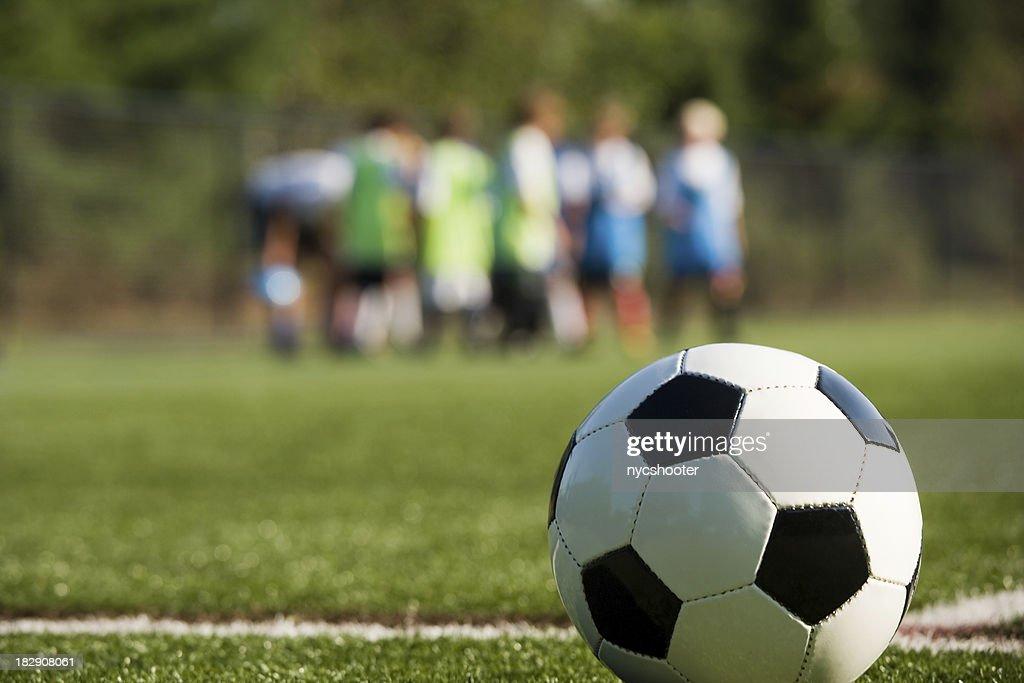 Allenamento di calcio : Stock Photo