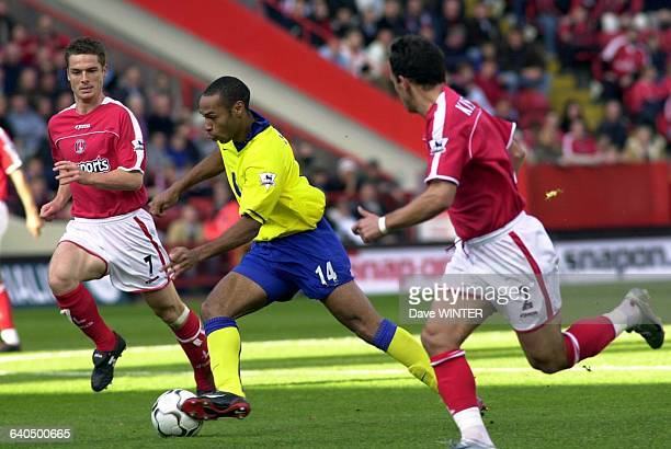 FA Soccer Premiership season 20032004 Charlton Athletic vs Arsenal Thierry Henry Football Championnat d'Angleterre Premiere Ligue saison 20032004...