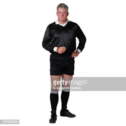 Soccer Referee : Stock Photo