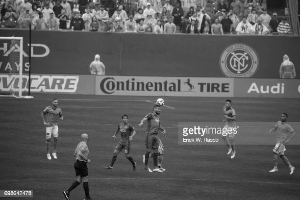 Seattle Sounders Clint Dempsey in action vs New York City FC at Yankee Stadium Bronx NY CREDIT Erick W Rasco