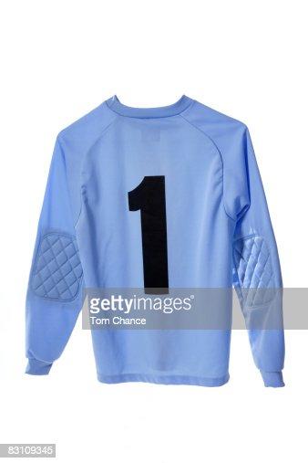 Soccer shirt, close-up
