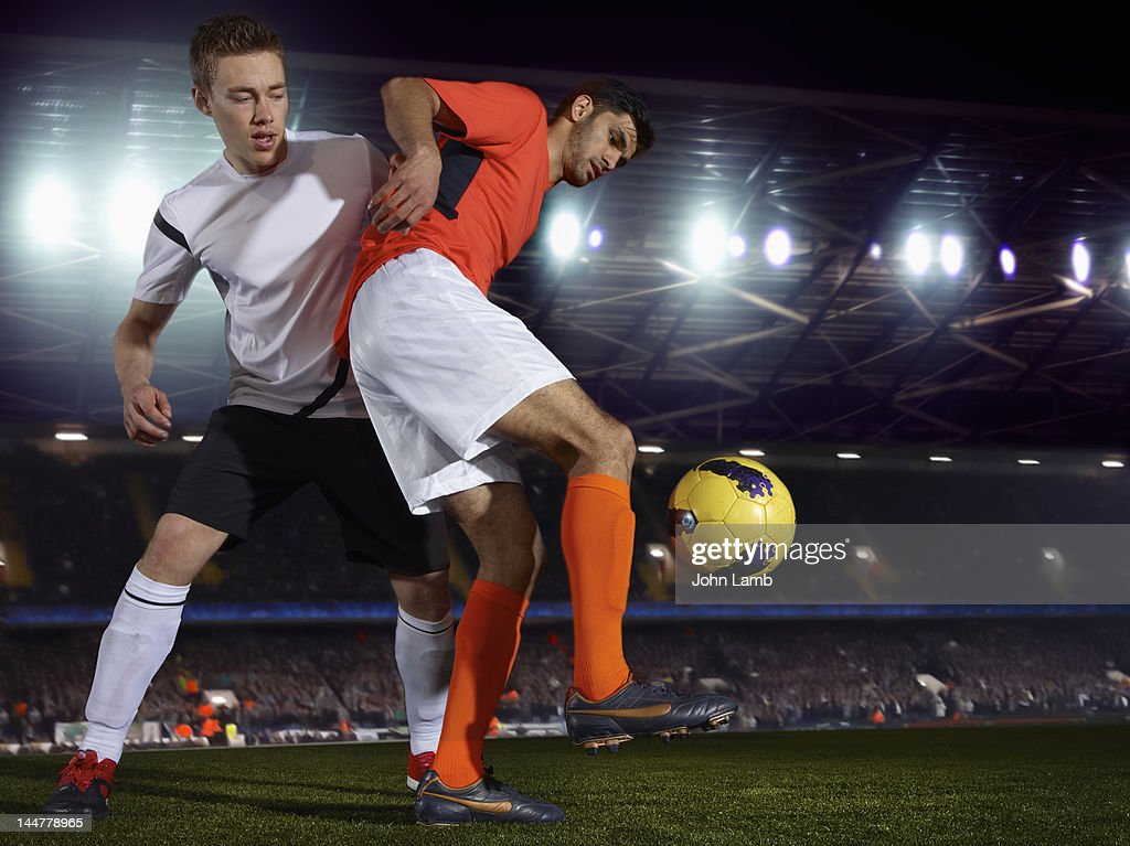 Soccer skills : Stock Photo