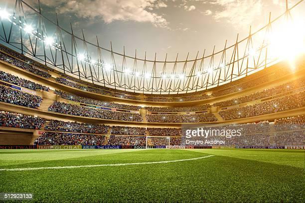 - Fußballstadion