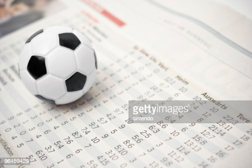 soccer stats : Stock Photo