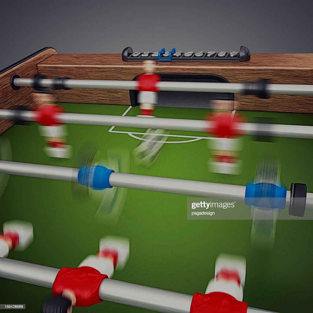 soccer table : Stock Photo