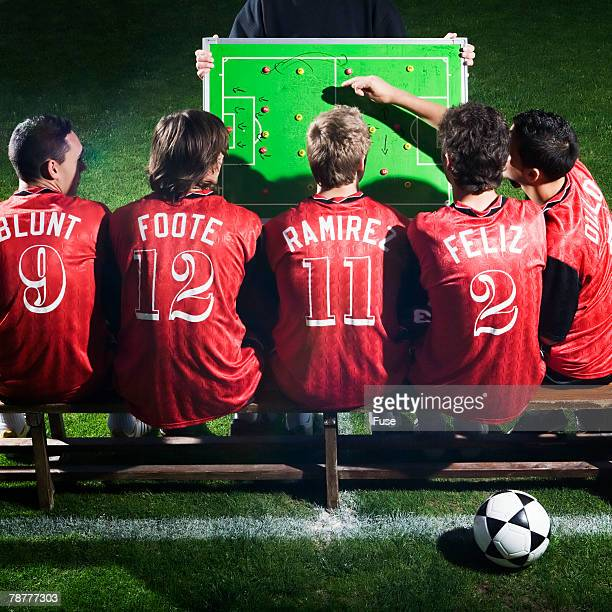 Soccer Team in Meeting