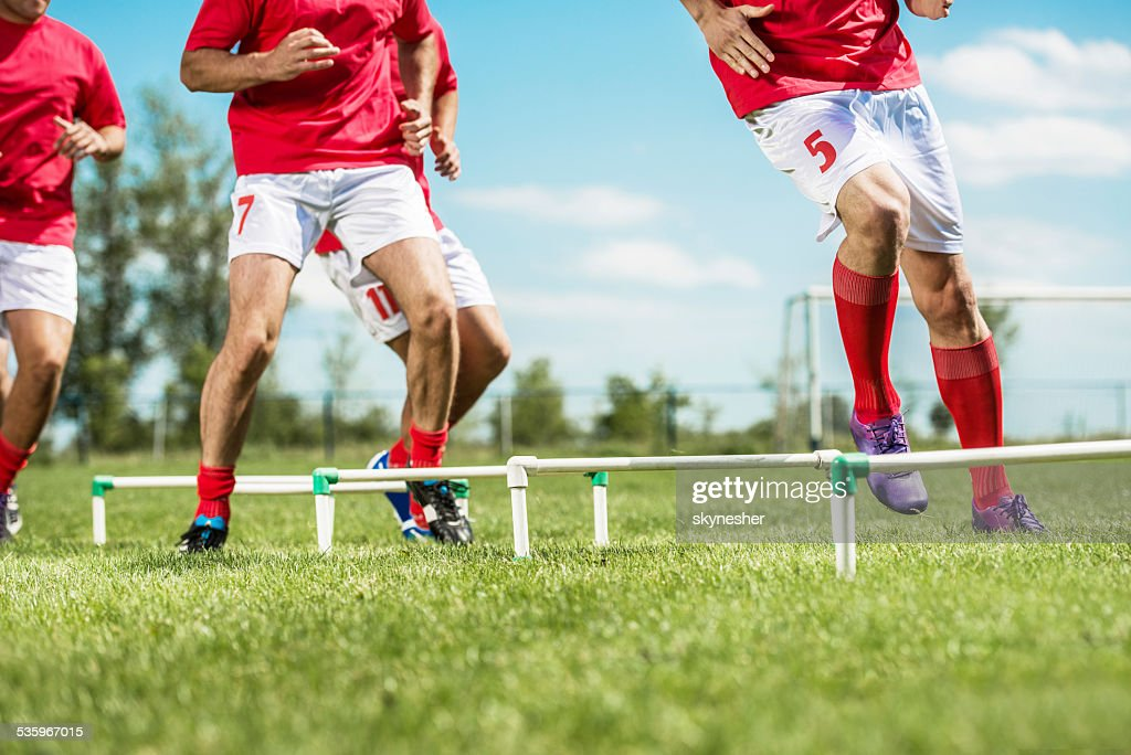 Soccer training. : Stock Photo