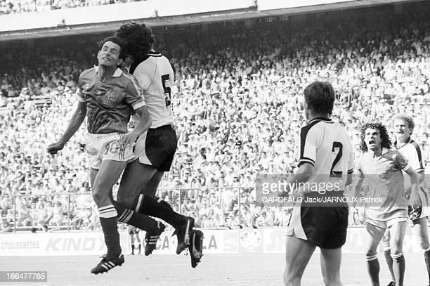 The Rest Of Warriors Madrid Espagne 28 juin 1982 La Coupe du Monde de football Match FranceAutriche