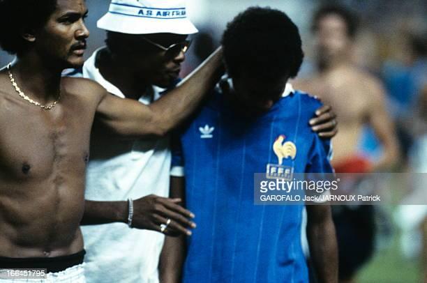 Soccer World Cup 1982 Séville 8 juillet 1982 Coupe du monde de football 1982 Match de demifinale France Allemagne La France sort perdante de la...