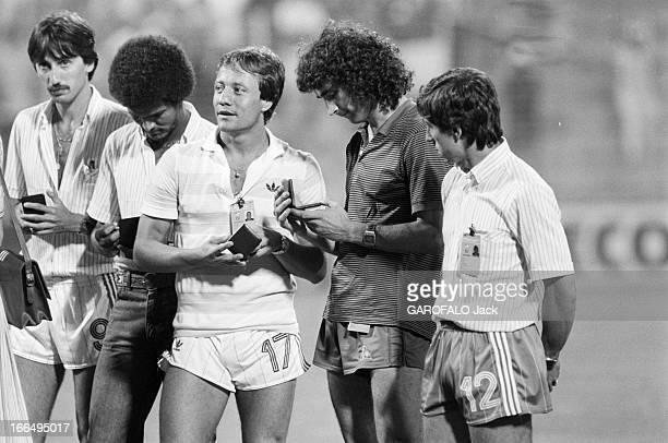 Match France Poland Espagne Alicante 11 juillet 1982 lors de la douzième édition de la coupe du monde de football le match pour la 3ème place oppose...