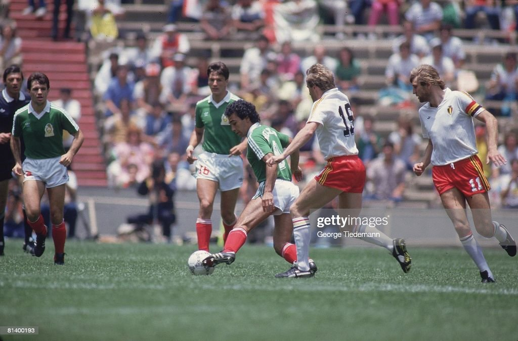 Image result for Hugo Sanchez goal vs belgium