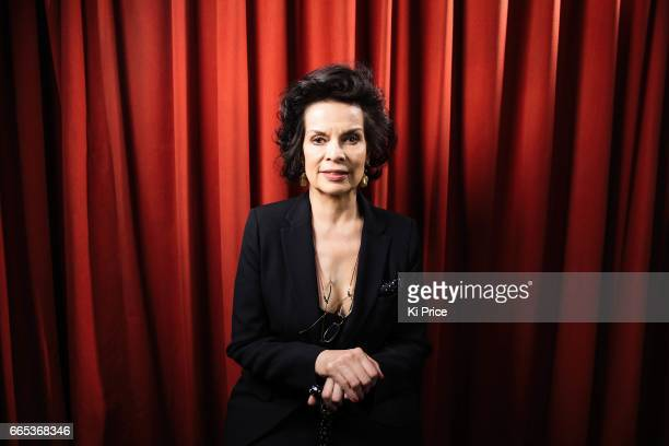 Social and human rights advocate and a former actress Bianca Jagger is photographed on April 5 2017 in London England