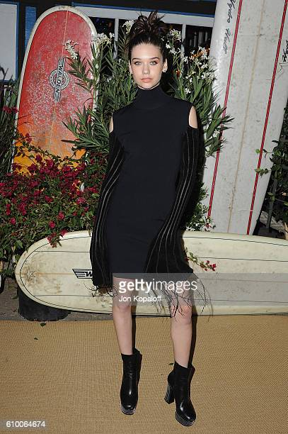 Social influencer Amanda Steele arrives at Teen Vogue Celebrates 14th Annual Young Hollywood Issue at Reel Inn on September 23 2016 in Malibu...