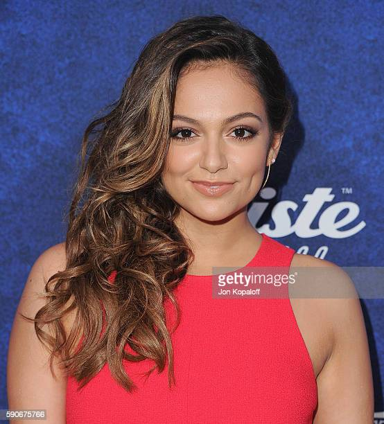 Social influencer Bethany Mota arrives at Variety's Power Of Young Hollywood at NeueHouse Hollywood on August 16 2016 in Los Angeles California