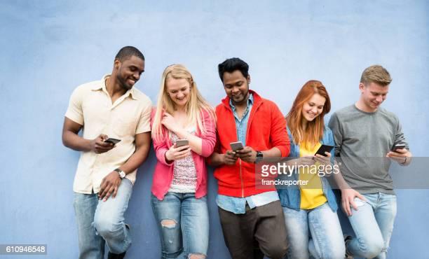 social media addiction people using the smartphone