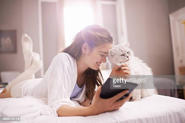 Social media and cats...is there a better combo?