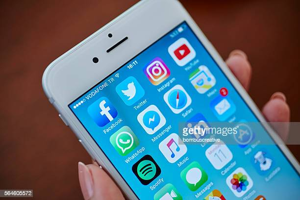 Social Media Applications Icons