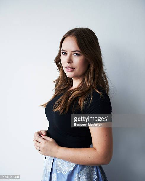 Social media blogger Tanya Burr is photographed for the Telegraph on July 29 2014 in London England